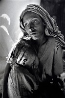 children's ward in the korem refugee camp [mother and child] by sebastião salgado